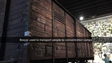 florida holocaust museum boxcar