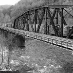Train bridge in West Virginia