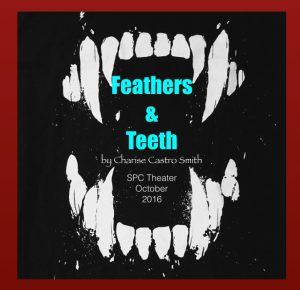 Feathers and teeth poster.001