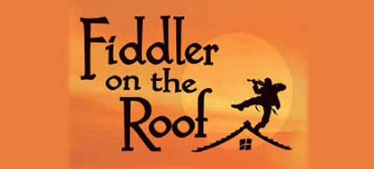 Fiddler on the Roof Production banner small