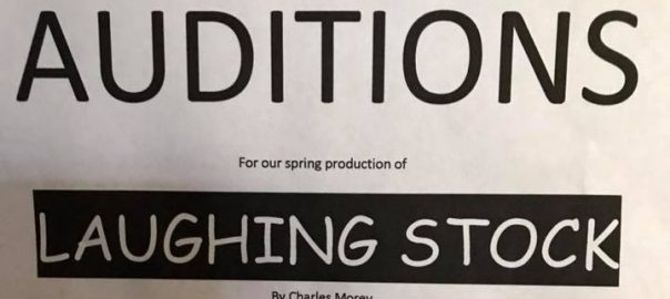 Theater Auditions for SPC Theater's Laughing Stock