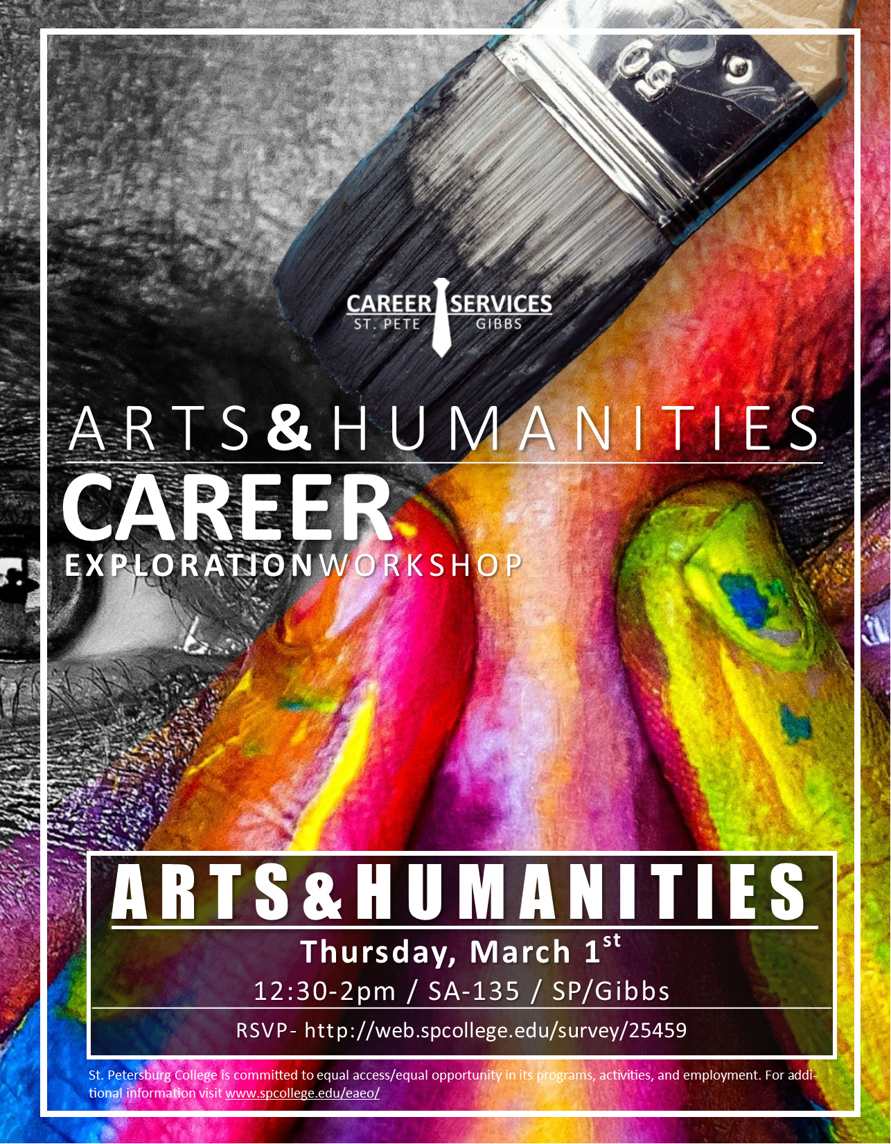 Career Exploration Workshop for Arts & Humanities Majors