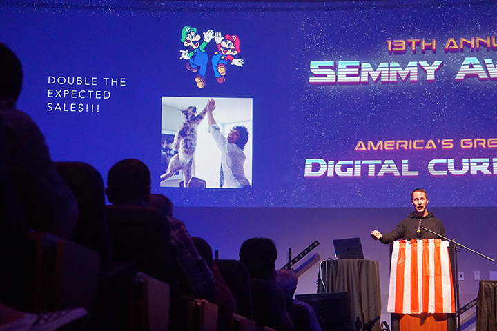 Matt Klowkowski Speaks at 13th Annual SEmmys