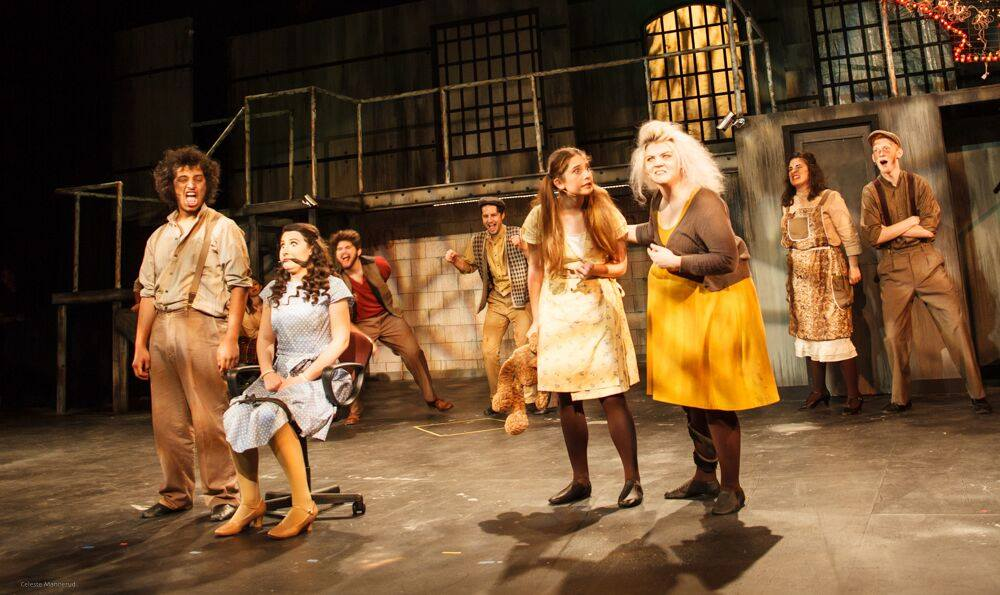 Photo of the Urinetown Cast