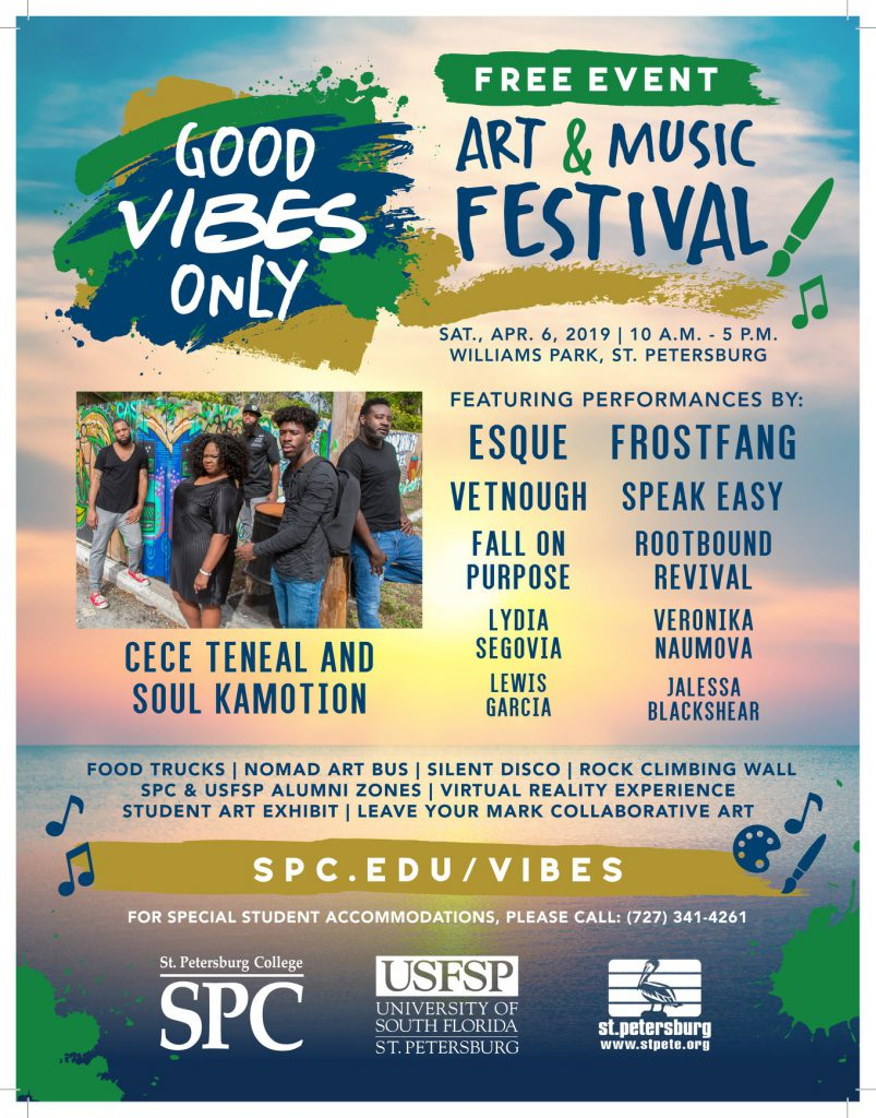Good Vibes Only Festival Flyer
