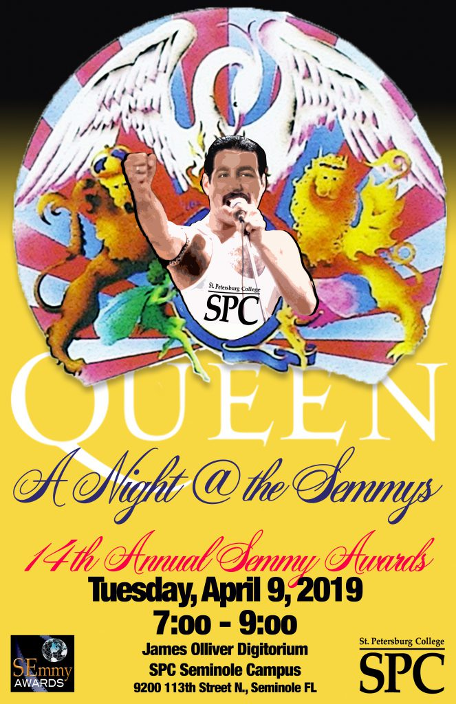 Poster for the 14th Annual SEmmy Awards