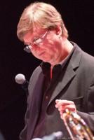 David Manson directs orchestra