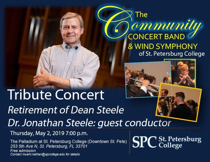 Tribute Concert flier