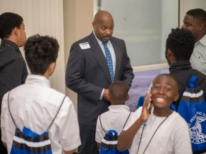 Keys to Manhood 2018 Victor Young and Students