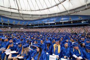 SPC Graduation at Tropicana Field