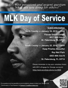 MLK Day information