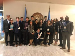 SPC Model United Nations at National Conference Spring 2019