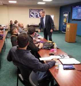 Police Professionalism Exchange Program at the Allstate Center