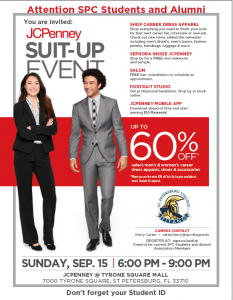 Suit-Up Event flier