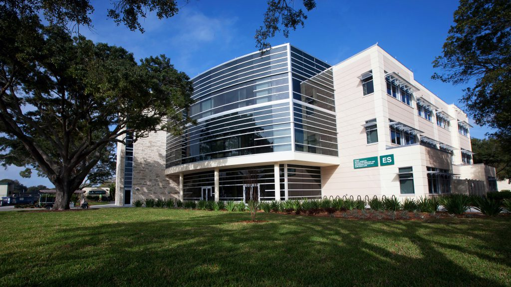 An exterior shot of SPC Clearwater Campus