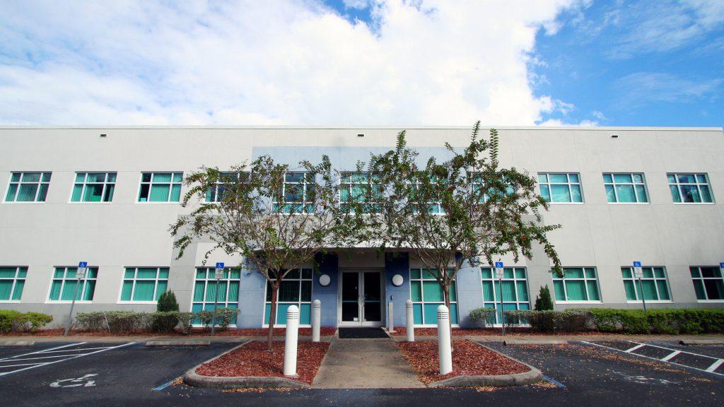 An exterior shot of SPC Epi Services