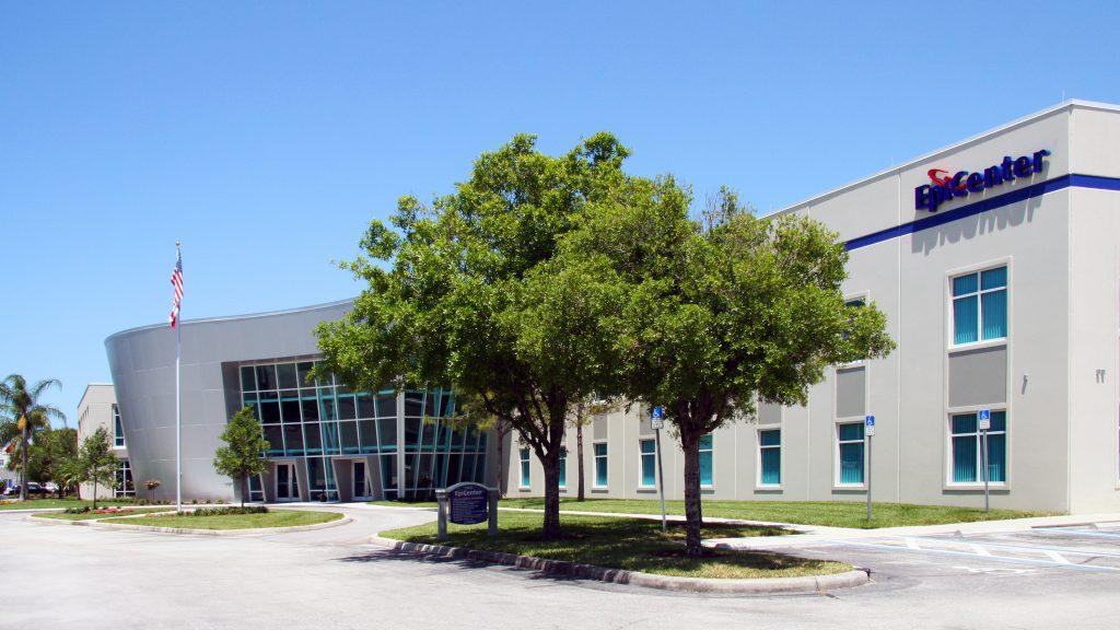 An exterior shot of SPC EpiCenter