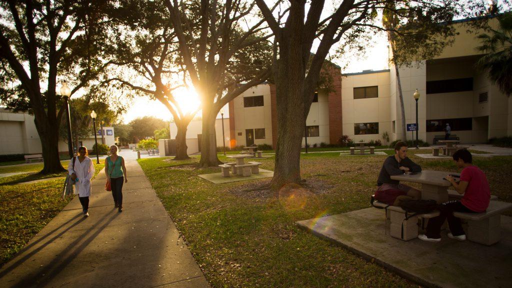 An exterior shot of SPC Gibbs Campus