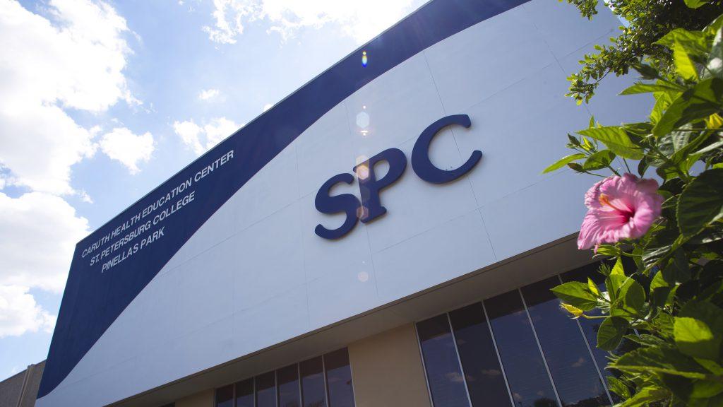 An exterior shot of SPC Health Education Center