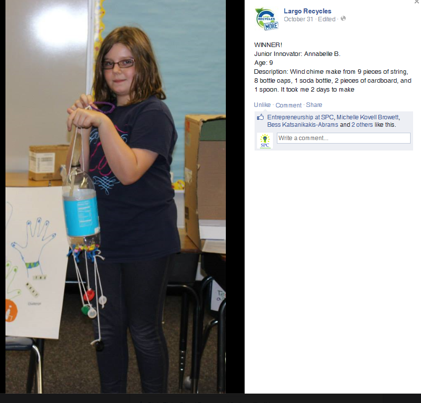 Annabelle_Wins Recycle Contest