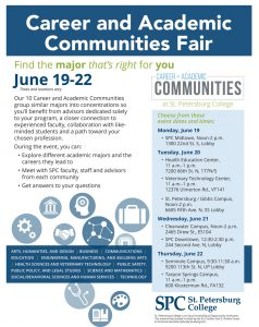 Career and Academic Communities Fair