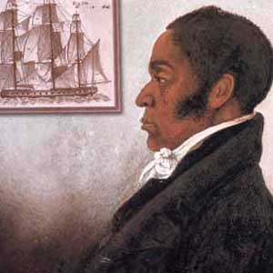 Portrait of James Forten for African American History Month