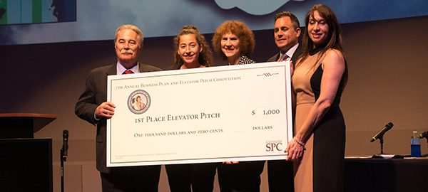 Student Entrepreneurs compete at Business Plan and Elevator Pitch Competition