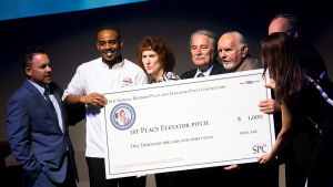Business Plan and Elevator Pitch Competition winners