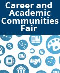 Career and Academic Communities Fair graphic
