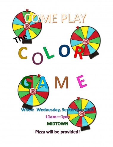 Color Game poster MT post by Sept 29