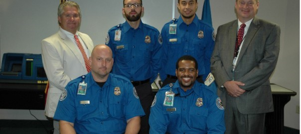 Photo of TSA officers