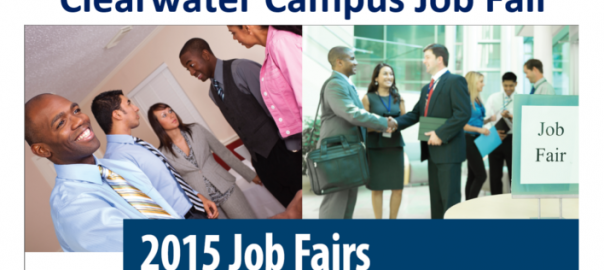 2015 Clearwater Campus Job Fair art