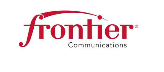 Frontier Communications typeset logo