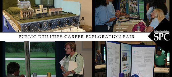 Public utilities career fair art