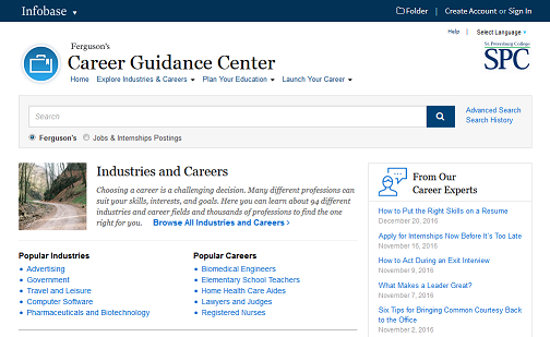 Encyclopedia of Careers and Vocational Guidance - Careers