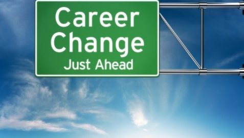 Career change sign - sports medicine to cybersecurity