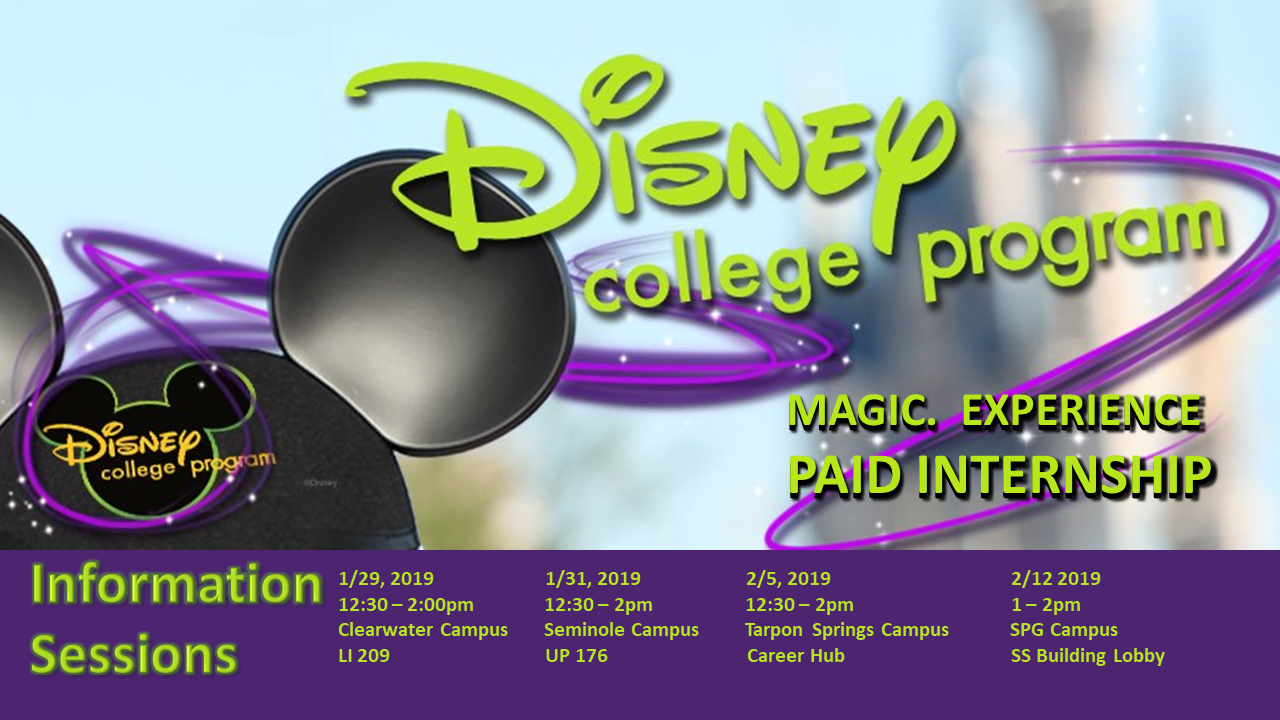 Disney College Program slide