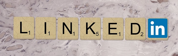 Linkedin scrabble graphic