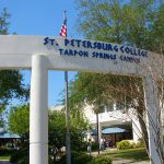 Front of Tarpon Springs Entrance Arch
