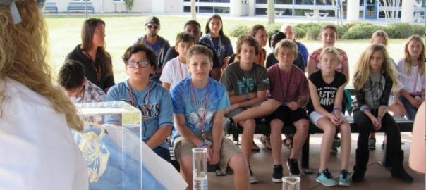 kids visit seminole campus
