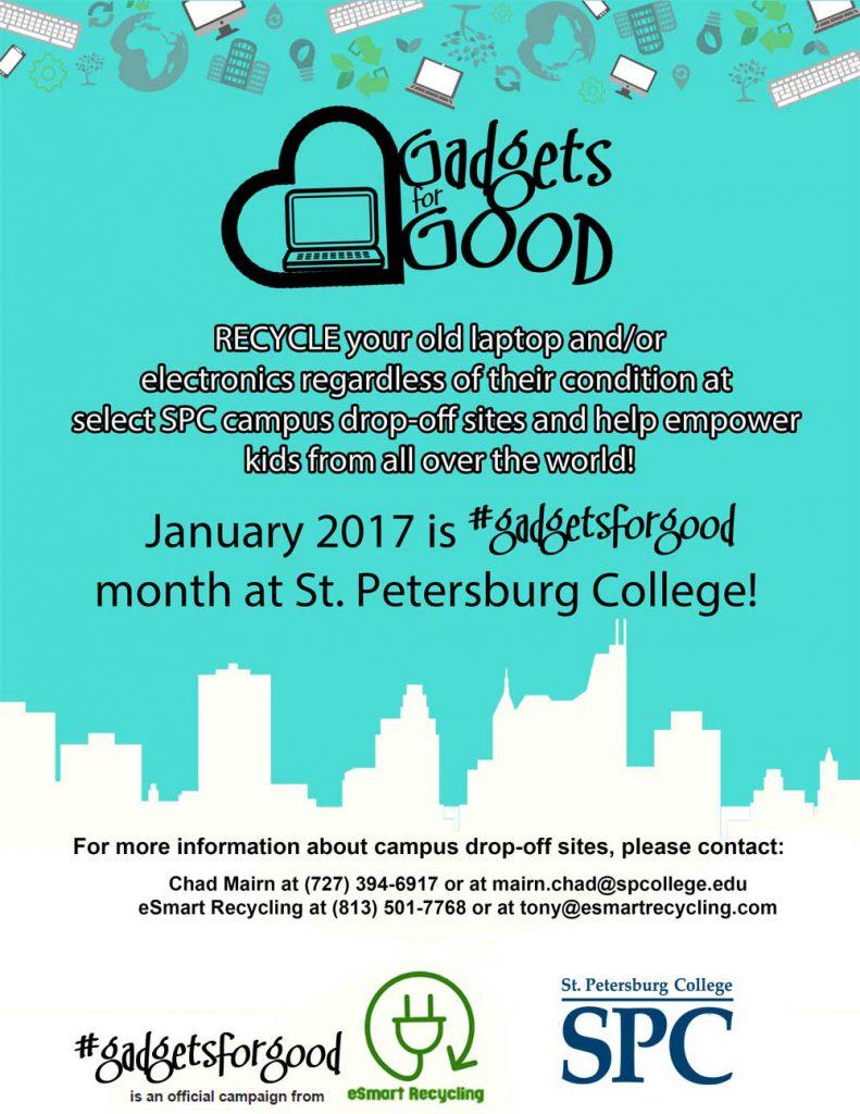 donating gadgets