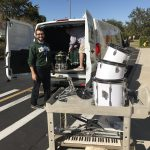 Staff take part in donation drives like Recycled Tunes