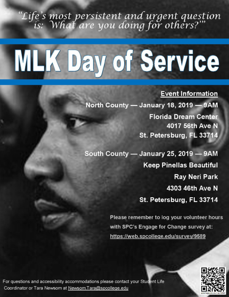 MLK Days of Service Events
