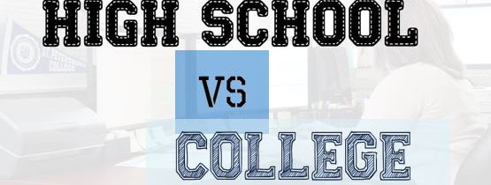 High School vs College: understanding the difference
