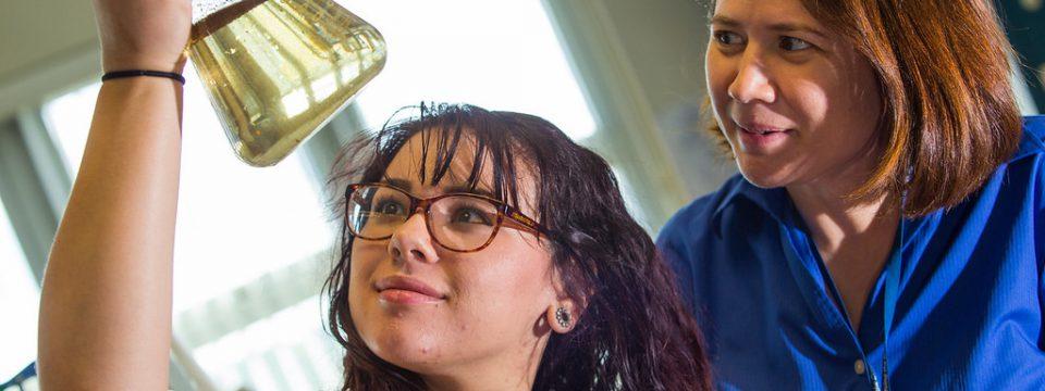 Young women can bridge the gender gap in STEM careers