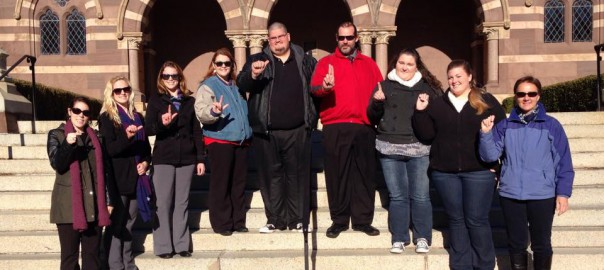 DC trip for SPC Sign Language Interpretation graduates