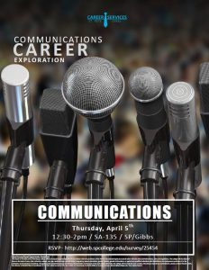 Communications Career Exploration event