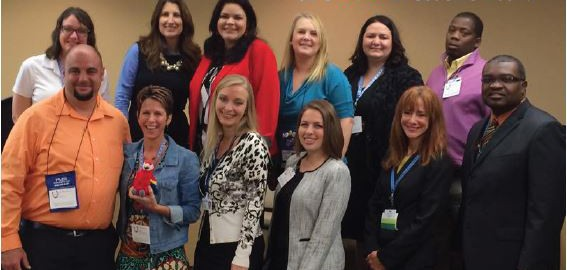 Association of Florida College's Executive Board (Photo courtesy of The Network newsletter)