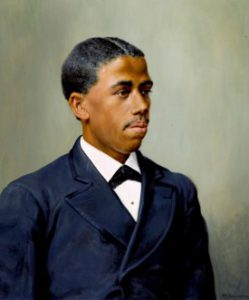 Portrait of Edward Bouchet for African American History Month