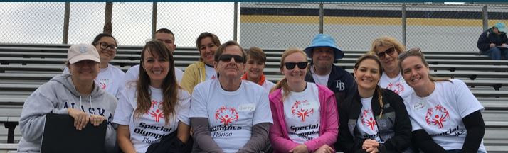 Special Olympics Volunteers March 2018 at Lakewood